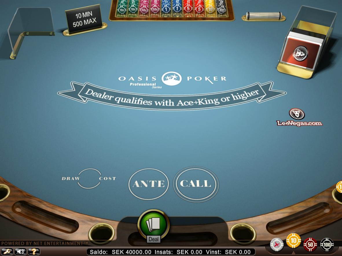 poker på nätet bild